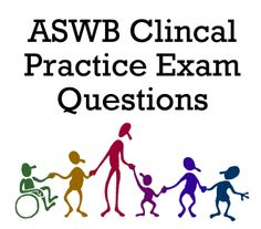 Thinking about becoming a social worker? Take advantage of these ASWB Clinical Practice Exam questions to become familiar with the ASWB exam! #aswb