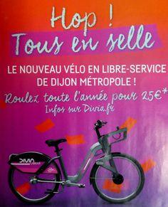 40 stations dans la ville. 400 vélos disponibles 7J/7. Bornes tactiles multilingues. Application pour réserver son vélo et voir les disponibilités. Station Chabot Charny à 100 m de l'appart-hotel-dijon.com