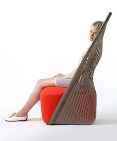 Interesting Blend Hammock Chair Fusion Modern Furniture Design. Fun Design Ideas We Love at Design Connection, Inc. | Kansas City Interior Design #InteriorDesign #Hammock Chair http://www.DesignConnectionInc.com/Blog