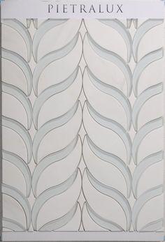 Waterjet Design Marble  #remodeling #handcarved #etched #engraved #highquality #design #interiordesign #custommade #designer #bathroomdesign #bathroombacksplash #backsplash #border #decorativetile #elegant #unique #designer