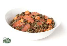 La Cuisine de Bernard : Salade de Lentilles au Saumon Fumé