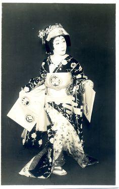 KABUKI actor  Utaemon Nakamura (6th)