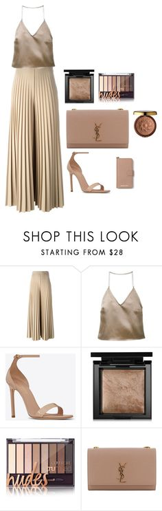 """""""Sin título #138"""" by linyes on Polyvore featuring moda, Givenchy, Barbara Casasola, Yves Saint Laurent, Bare Escentuals, Physicians Formula, MICHAEL Michael Kors y nude"""