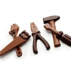 Немцы развлекают шоколадом Werkzeug aus Schokolade CHOCO-TOOLS