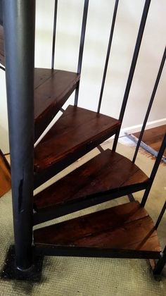 Excellent spiral staircase uk only on this page Spiral Staircase For Sale, Spiral Staircase Dimensions, Staircase Design, Small Spaces, Dining Chairs, Stairs, Home Decor, Stairway, Decoration Home