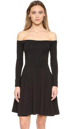 Anna K Off Shoulder Dress