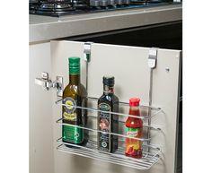 Prateleira para porta de armário - Alta - Cozinha / Prateleiras | Ordenato!