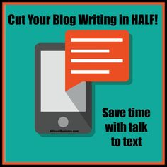 Do you have a love/hate relationship with blogs? You love doing it or know you need to but sometimes it's just a pain? Save time blogging with this tip!