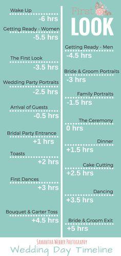 Plan Your Wedding Anniversary Timeline - Planning your wedding anniversary timeline can be difficult Wedding Day Schedule, Wedding Day Tips, Budget Wedding, Plan Your Wedding, Wedding Ideas, Wedding Day Itinerary, Wedding Checklists, Wedding Expenses, Wedding Destinations