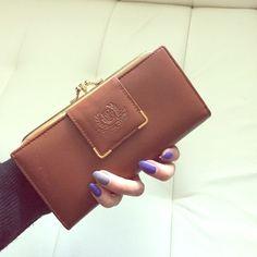 Beautiful genuine leather wallet New genuine leather wallet great for a Christmas gift Genuine leather  Bags Wallets
