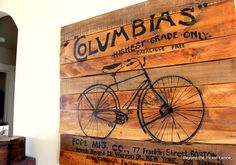 paintings of old bicycles - Google Search