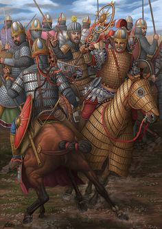 Battle of Satala in 530 A.Battle was fought as part of the Romano-Persian war of Persian Warrior, Greek Warrior, Ancient Rome, Ancient History, Byzantine Army, Sassanid, Roman Era, Ancient Persian, Early Middle Ages