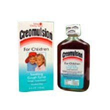 There was no cough medicine on Earth like Creomulsion. IT tasted good and worked.