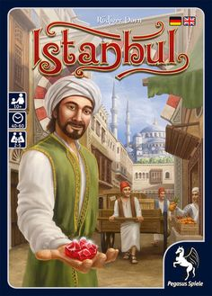 Istandbul - A Review -- Theology of Games #Boardgames #tabletop