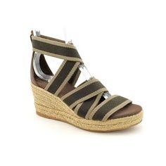 Tory Burch Bridee Open Toe Wedge Sandals Shoes « Shoe Adds for your Closet