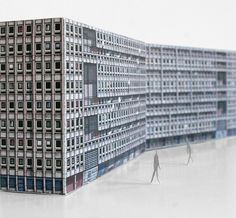 Zupagrafika Honors London's Brutalist Architecture with Paper Models
