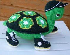 creatief met naald en draad: Schildpad Jacob