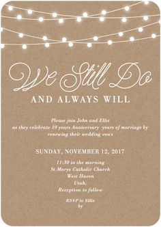 Still the one vow renewal invitation vow renewal invitations click to zoom in stopboris Gallery