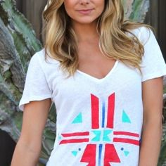 DIY - Native Print T-Shirt.