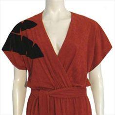 1970s Vintage Dress Plunging Neckline | NeldasVintageClothing - Clothing on ArtFire