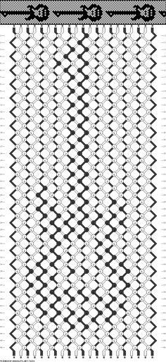 #76840 - friendship-bracelets.net - Guitar pattern