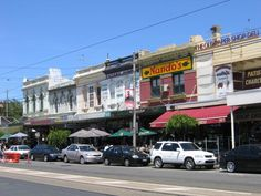 Contextual images of the scenes background, St Kilda streets are seen as not entirely busy, almost a homey, family feel to them without bustling streets such as near crown casino