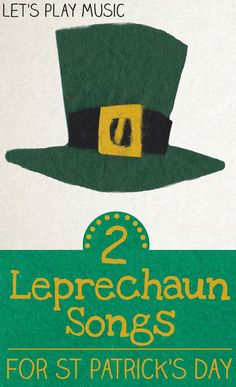 Action Leprechaun Songs for Kids on St Patrick's Day