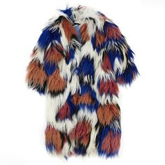 FUR MARNI ($2,905) ❤ liked on Polyvore featuring outerwear, coats, jackets, fur coat, marni, white fur coat, marni coat and white coat