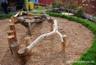 Earth Wrights natural playground equipment and design