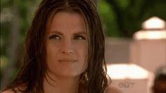 Ugh, Castle!!! Beckett has the best reactions.