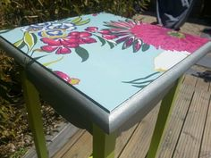 For sale: beautiful bespoke vintage upcycled table