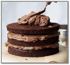 New Cake Chocolate Fondant Frosting Recipes Ideas Chocolate Ganache Cupcakes, Chocolate Cake Recipe Easy, Chocolate Fondant, Best Chocolate, Fondant Frosting Recipe, Frosting Recipes, Cupcake Recipes, Cupcake Cakes, Number Cakes