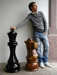 My dream.....someday to have a GIANT chess set.