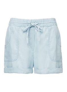 Womens Shorts | Chambray Short | Seed Heritage