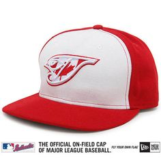 Toronto Blue Jays Canadian Flag fitted hat.
