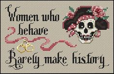 Women Who Behave pattern