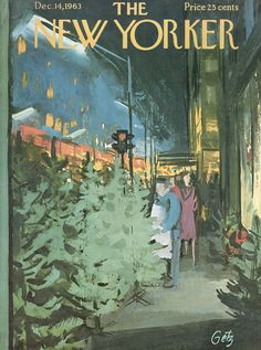 The New Yorker - Saturday, December 14, 1963 - Issue # 2026 - Vol. 39 - N° 43 - Cover by : Arthur Getz