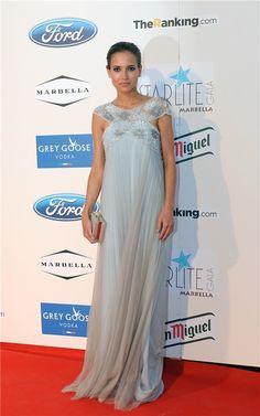 Ana Fernández, en la gala Starlite Marbella 2013