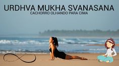 Yoga para iniciantes #05  - CACHORRO OLHANDO PARA CIMA [URDHVA MUKHA SVA...