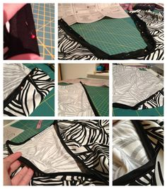 How to sew with stretch bias binding