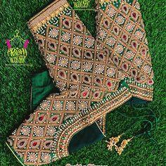 Cutwork Blouse Designs, Kids Blouse Designs, Wedding Saree Blouse Designs, Pattu Saree Blouse Designs, Simple Blouse Designs, Kurti Designs Party Wear, Blouse Neck Designs, Saree Tassels Designs, Hand Work Blouse Design