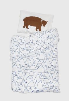 bruno/mountains bed set