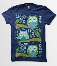 Owl Crew Neck for Ultimate Comfort T-Shirt,Cool Looking Owls Differ