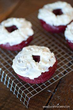 Red Velvet Cake Mix donuts