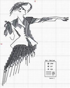 pinterest woman silhouette cross stitch charts   Share