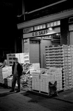 Night at the Spitalfields Market, 1991   Spitalfields Life