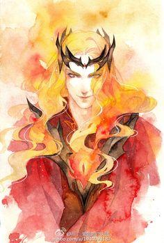Sauron...ok that's pretty cool