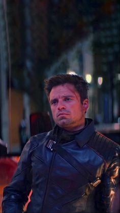 Sebastian Stan, Marvel Actors, Marvel Characters, Winter Soldier Wallpaper, Marvel Dc Comics, Marvel Avengers, Marvel Man, Bucky Barnes Aesthetic, Wanda Marvel