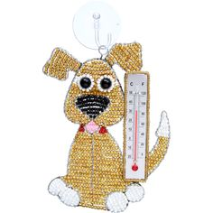 Thermometer Dog| Beadworx by Grass Roots Creations http://shop.grassrootscreations.com/p/thermometer-dog?pp=24