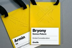 Reviewed: New Logo and Identity for 2013 Brand New Conference by UnderConsideration